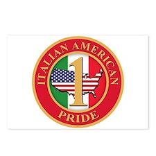 Italian American Pride Postcards (Package of 8)