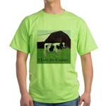 Cow Country Green T-Shirt