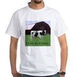 Cow Country White T-Shirt