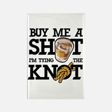Buy Me A Shot Rectangle Magnet