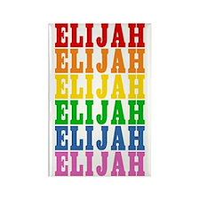 Rainbow Name Rectangle Magnet