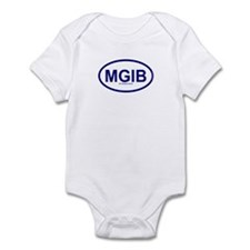 MGIB - My Grass Is Blue Infant Bodysuit