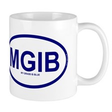MGIB - My Grass Is Blue Mug