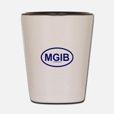 MGIB - My Grass Is Blue Shot Glass