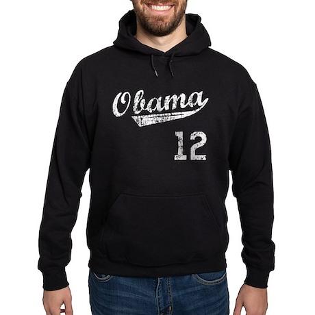 Obama 2012 Sport Style Hoodie (dark)