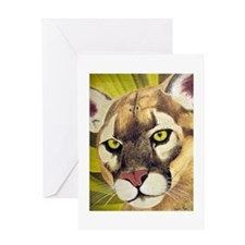 Cougars Greeting Card