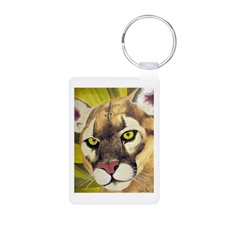 Cougars Aluminum Photo Keychain