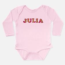 Julia Long Sleeve Infant Bodysuit