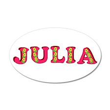 Julia 22x14 Oval Wall Peel