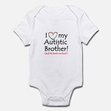 I love my Autistic Brother! - Infant Creeper