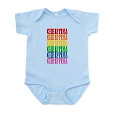 Rainbow Name Onesie