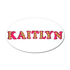 Kaitlyn 22x14 Oval Wall Peel
