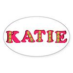 Katie Sticker (Oval)