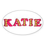 Katie Sticker (Oval 10 pk)