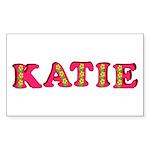 Katie Sticker (Rectangle 50 pk)