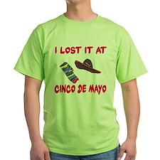 I Lost it at Cinco de Mayo T-Shirt