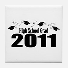 High School Grad 2011 (Black Caps And Diplomas) Ti