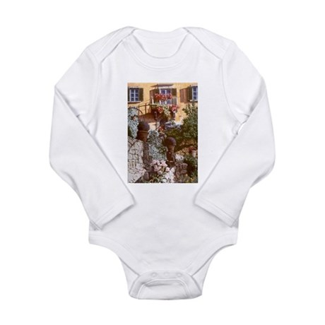 Welcome To Tuscany! Long Sleeve Infant Bodysuit