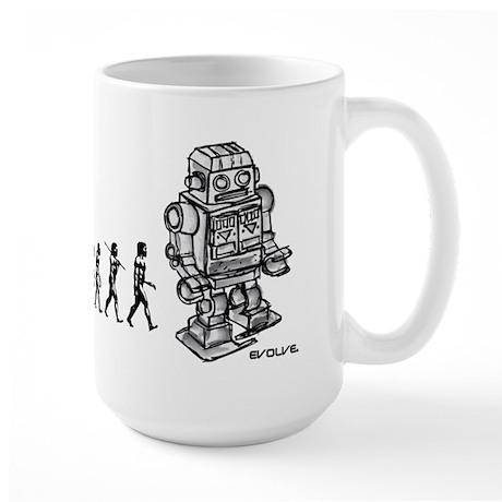 ROBOT EVOLUTION Large Mug