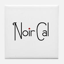 Noir Cal Tile Coaster