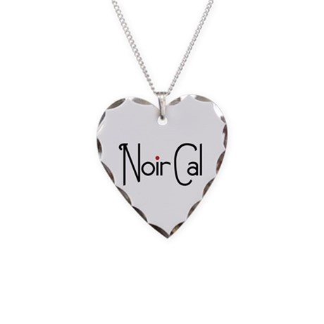 Noir Cal Necklace Heart Charm