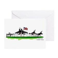 """""""Planes on a Stick"""" Greeting Cards (Pk of 10)"""