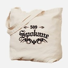 Spokane 509 Tote Bag