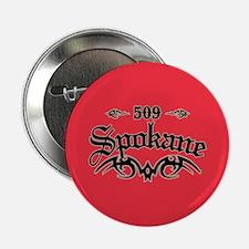 """Spokane 509 2.25"""" Button"""