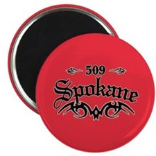 Spokane 509 Magnet
