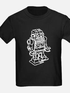 RETRO ROBOT SKETCH T