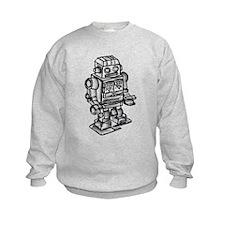 VINTAGE TOY ROBOT Sweatshirt