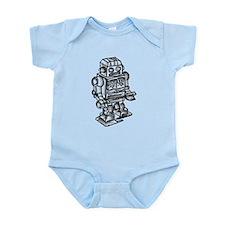 VINTAGE TOY ROBOT Infant Bodysuit