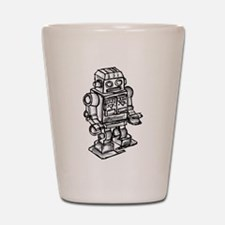 VINTAGE TOY ROBOT Shot Glass