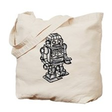 VINTAGE TOY ROBOT Tote Bag