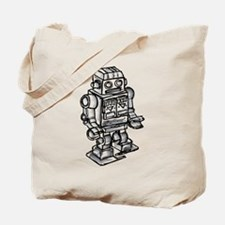 VINTAGE TOY ROBOT Tote Bag