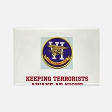 Funny Seal team six Rectangle Magnet