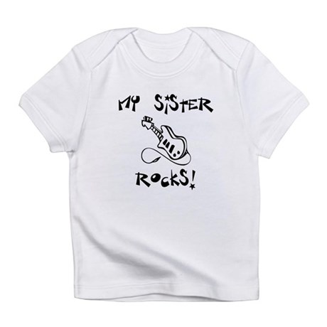 My Sister Rocks Guitar Infant T-Shirt