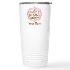 Personalized World's Greatest Nurse Travel Mug
