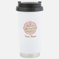 Personalized World's Greatest Nurse Travel Mug