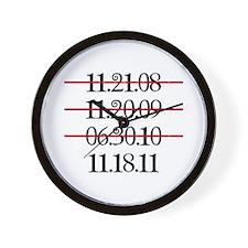 Release Date Wall Clock