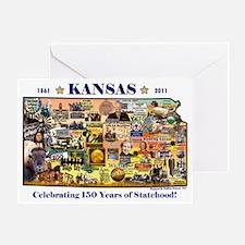 Cute Kansas Greeting Card