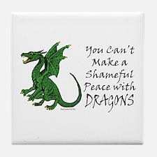 Dragonslayer Tile Coaster