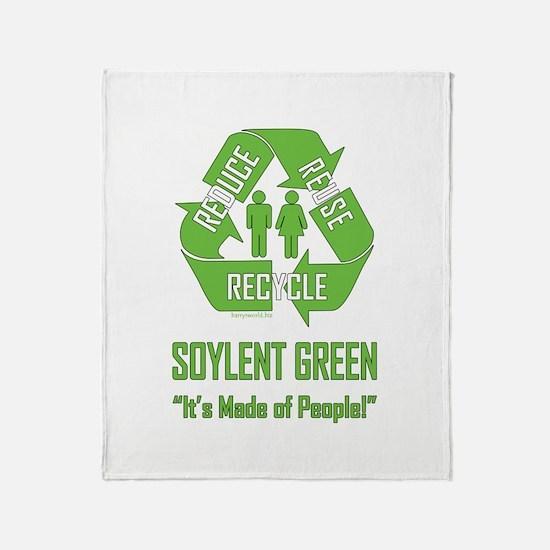 Soylent Green Throw Blanket