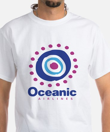 Oceanic Airlines White T-Shirt