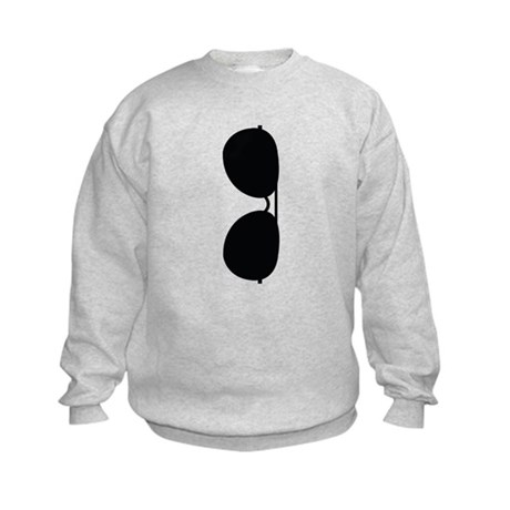 Sunglasses Kids Sweatshirt