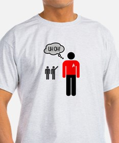 Uh Oh Redshirt T-Shirt