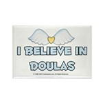 I Believe in Doulas Rectangle Magnet (10 pack)