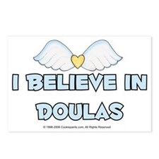 I Believe in Doulas Postcards (Package of 8)