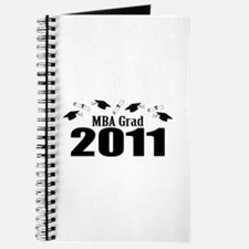 MBA Grad 2011 (Black Caps And Diplomas) Journal