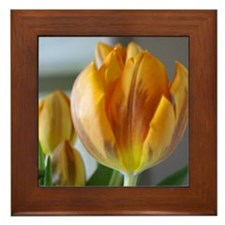 Beautiful flowers Framed Tile